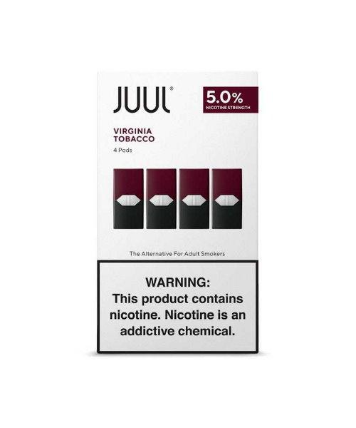 Juul Virginia Tobacco Pod %5 indirimli fiyatı ile podfiyat.com'da